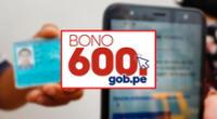 Conozca todos los pasos de debe seguir para poder inscribirse a través de la banca móvil del bono 600