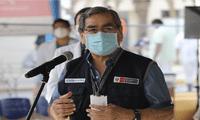 Óscar Ugarte anuncia la llegada de primer lote de vacunas del laboratorio AstraZeneca
