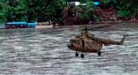 Reportan caída de helicóptero del Ejército en el río Urubamba