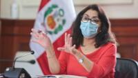 Violeta Bermúdez mencionó que se encuentran organizando todo para realizar la transferencia del Gobierno al próximo presidente del Perú.
