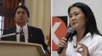Vladimir Cerrón cuestionó las declaraciones de la candidata a la segunda vuelta Keiko Fujimori.
