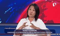 Keiko liberará a su padre Alberto Fujimori en caso gane la segunda vuelta electoral.