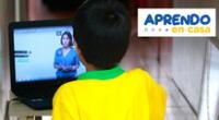 Aprendo en casa se empezará a transmitir en Tv Perú y Radio Nacional a partir del 19 de abril.