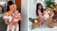 Samahara Lobatón realizó emotiva sesión de fotos.