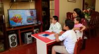 Aprendo en casa ya se está transmitiendo por televisión y radio.