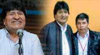 Evo Morales dedicó mensaje para Pedro Castillo.
