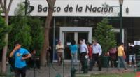 El Banco de la Nación amplió su horario de atención.