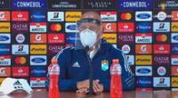 Roberto Mosquera defendió la propuesta de Sporting Cristal.