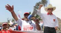 Sutep le daría el respaldo a Castillo si cumple con su compromiso en la educación.