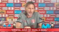 Sporting Cristal perdió y Gareca dio su palabra.