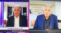 Álvaro Vargas Llosa se presentó en dos programas a la vez y redes explota.