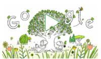 Día de la Tierra: Google celebra con un doodle animado por el 22 de abril.