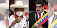 Pedro Castillo le dijo a Maduro que primero se fije en los problemas de su país ante de hablar del Perú.