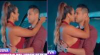 Isabel Acevedo y Jonathan Rojas protagonizan beso en videoclip.