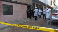 Esposo de la mujer, identificado como Víctor Ricardo Ibarra Mauri, es el principal sospechoso. PNP lo capturó y está a la espera de sus declaraciones.