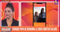 Giovanna Valcárcel recibe emotivo saludo de cumpleaños de parte de su padre