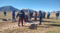 Despiste de vehículo en la vía Interoceánica deja tres heridos