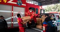 Municipio de Lince dona equipos a la Bomba Lima 4
