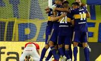 En Boca Junior sumó su tercer triunfo consecutivo en  la Copa de la Liga Profesional.
