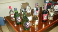 Intervienen taller clandestino que adulteraba bebidas alcohólicas