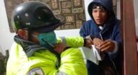 La propietaria de 60 años fue quien alertó a las autoridades municipales, quienes llegaron rápidamente y redujeron al presunto ladrón al piso, quien en todo momento pedía perdón por el hecho.
