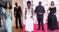 Ya van llegando los protagonistas de la noche de los Oscars 2021.