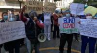 Más de 3000 trabajadores de Lima Centro no han sido considerados para recibir el subsidio a causa de la pandemia.