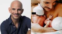 Ricardo Morán se mostró emocionado por los dos años de los pequeños Emiliano y Catalina, e hizo una reflexión en redes sociales.
