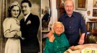 Rinaldo Duranti de 105 y Giuseppina Villa, de 101 años, cariñosamente llamados Nando y Nuccia, es la pareja más longeva de Monza.
