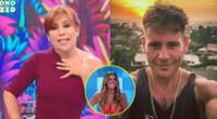 Magaly Medina piensa que Pancho Rodríguez se encuentra enamorado de Yahaira Plasencia.