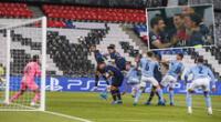 PSG se adelantó en el marcador ante Manchester City por la Champions League.
