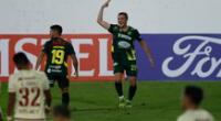 Universitario no pudo en Argentina y cayó goleado por Copa Libertadores.