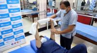 Departamento de Medicina Física y Rehabilitación del hospital incrementó sus consultas en 50% al mes con la llegada de la pandemia.