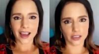 """Melania Urbina contra el acoso en redes: """"No tienes derecho a decirme cosas asquerosas"""""""