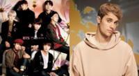 BTS y Justin Bieber ahora forman parte del mismo sello discográfico, HYBE, y habría posibilidades de una unión