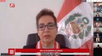 La Presidenta del Poder Judicial, Elvia Barrios Alvarado pidió que las juezas y jueces que pongan el hombro y corazón