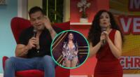 "Christian Dominguez aseguró que Pamela Franco le pidió que deje de llamar ""comadre"" a Janet Barboza en América Hoy."
