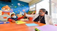 Niños y adolescentes reciben atención en el INSN San Borja