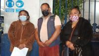 Familiares exigen explicación a la Marina sobre la muerte del infante Erick Alexander Huari Venturo.