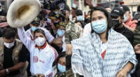 Pedro Castillo y Keiko Fujimori se midieron este sábado desde Chota, Cajamarca, de cara a la segunda vuelta electoral.