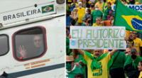 Los ciudadanos brasileños apoyan a Jair Bolsonaro, a pesar de la investigación por su cuestionada gestión de la pandemia del COVID-19.