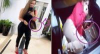 Melissa Klug se luce con bolso de Louis Vuitton parecido al de Yahaira Plasencia.