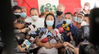 Keiko Fujimori sigue liderando el antivoto en un 50%