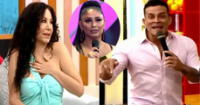 Christian Domínguez se molesta con Janet Barboza por Pamela Franco.