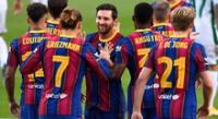Barcelona confía en Messi para alcanzar el título de la Liga.