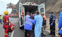 Un extranjero alemán fue rescatado tras caer de un acantilado en la Costa Verde.