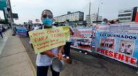 enfermeras del Instituto Nacional del Niño exigen pago de bonos