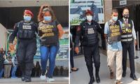Los delincuentes fueron capturados por la PNP antes de que ingresen a robar a una vivienda en El Agustino.