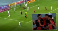 Melgar abrió el marcador ante Paranaense en el segundo tiempo.