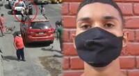Sujeto fue intervenido por el Grupo Terna gracias a las imágenes de la cámara de seguridad, en La Victoria.